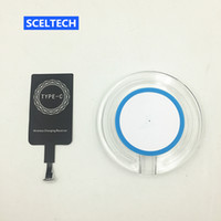 Discount xiaomi portable charger - SCELTECH Type-C Receiver qi wireless charger Portable Wireless Charger Pad For xiaomi mi5 mi5s meizu for huawei zuk oneplus