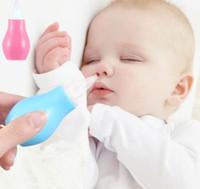 nariz de limpeza do bebê venda por atacado-Bebê Nariz Líquido Mais Limpo Aspirador Nasal Muco Runny Seguro Aspiradores Nariz Limpo Dispositivo de Limpeza Do Bebê Nariz Limpo KKA5906