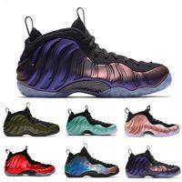 Hardaway Basketball Shoes Men Penny Hardaway Mens Sports Sneakers Foam One Eggplant Purple Mens Basketball Shoes Size 41 47