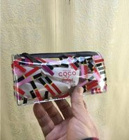 ingrosso buon deposito di trucco-2018 New Fashion colorful makeup bag famoso lusso di buona qualità classico Collezioni Item matita per sopracciglia custodia cosmetica