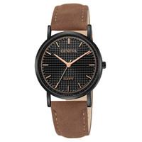 relojes antiguos pulsera pulsera al por mayor-GINEBRA Top Brand Para Mujer Para Mujer Faux Leather Band Cuarzo Analógico Vestido Pulsera Reloj de pulsera Ocio Reloj Horas #Zer