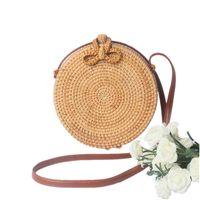 bolsas de mariposa al por mayor-LHLYSGS marca bolsos de lujo mujer bolsos diseñador bao baoRattan cesta de la cesta de mariposas de nuevo a la antigua bolsa tejida a mano cinturón de la PU