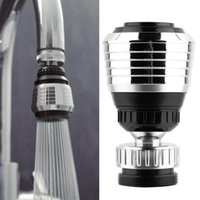 Wholesale nozzle swivel - 360 Rotate Swivel Faucet Nozzle Filter Adapter Water Saving Tap Aerator Diffuser High Quality Kitchen accessories
