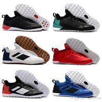Wholesale Best Indoor Soccer Shoes - 2018 ACE Tango 17 + Purecontrol IC Best Quality Wholesale Cheap Indoor Soccer Shoes Predator Football Boots Shoes