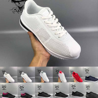 Wholesale women wear spring - new 2018 Cortez men women breathable light plus-size pu Forrest gump shoes wear casual sport fashion Women's Jogging shoes