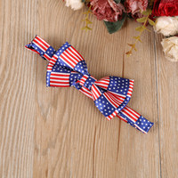 Wholesale white cravat - Mens Solid Bow Tie Groom Colourful Plaid Ties Marriage Butterfly Knot Wedding Party British Style Printing Cravat 4ry jjWW