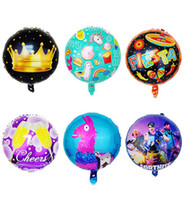 Wholesale wholesale party supplies for sale - Fortnite Aluminum Foil Balloon christmas gifts Kids Toys Large Balloon Birthday Party Supplies Christmas Halloween Decoration inch toy