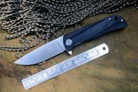 Wholesale hunter knives - CH D2 Satin Fold Blade Hunter Knife G10 Handle Outdoor Pocket Knife EDC for Camping Hiking Gift