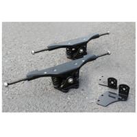 aluminiumdichtungen großhandel-Freies Verschiffen 1 Paar 11 zoll Elektrisches Skateboard Lkw Aluminium Dichtung Motor Dichtung Lkw