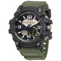 Wholesale thermometer big - High quality Big men's g sports GG1000 Compass and thermometer functions watch LED chronograph shock all function work waterproof with box