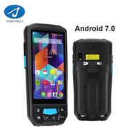 scanner portátil bluetooth venda por atacado-Máquina de faturamento Handheld terminal do andróide 3G 4G Bluetooth de PDA com o leitor sem fio do código de barras do varredor de código de barras 2D de PDA