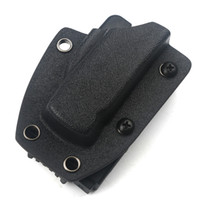 cuchillos micro al por mayor-Cuchillo automático kydex cuchillo protector aplicar a MICRO cuchillo EDC Scabbard Cinturón Clip Abrazadera de la cintura Campamento al aire libre portátil