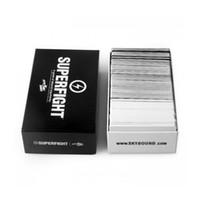 cartas de súper pelea al por mayor-La mayoría de los juegos de cartas Popuar Superfight Cards 500-Card Core Deck Naipes también tienen tarjetas básicas y de expansión DHL gratuito