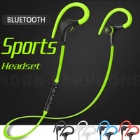 ingrosso cuffie per cuffie a cerniera-Hook Auricolari Bluetooth Bass Stereo Headset Vivavoce Cuffie con microfono da 3,5 mm Auricolari per tutti i telefoni cellulari con borsa Zipper