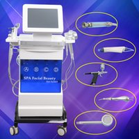 Wholesale Microdermabrasion Machines For Sale - 5 in 1 multifunction microdermabrasion machine for sale with vacuum for black head removal spray for face cleaning dermabrasion machine