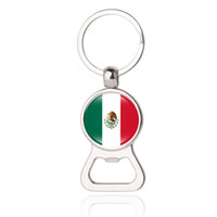 Wholesale norway sweden - Beer Bottle Opener Key Chains Micronesia Moldova Monaco Mexico Portugal Sweden Norway Nicaragua Flags Men's Fashion Jewelery Wholesale
