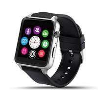 apple watch os оптовых-Оригинальный GT88 Bluetooth Smartwatch телефон наручные часы Smart Heart Rate Monitor поддержка TF SIM-карты для apple IOS Android OS