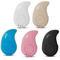fones de ouvido bluetooth estéreo para laptop venda por atacado-Mini Sem Fio Bluetooth Fone de Ouvido 4.1 STEREO In-Ear S530 fone de Ouvido Fone De Ouvido Fone De Ouvido Para iPhone laptop notebook computador Preto