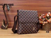 Wholesale satchel messenger for sale - AAA The Newest Classic Shoulder bag Mens Fashion Messengers Bag Women Crossbody Bags Famous Shoulder Satchels Bag Man Flap Black