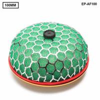 filtros de ar de cogumelo venda por atacado-Tansky - Universal Filtro de Ar Lavável Calibre pescoço: 100mm 3 camadas de esponja de filtro de ar Estilo Cogumelo para Universal Auto TK-AF100