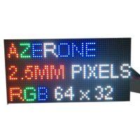 matris led toptan satış-64x32 led matris 1/16 tarama Kapalı SMD2121 3in1 RGB Tam Renkli 160 * 80mm P2.5 HD Kapalı LED Ekran için LED Modülü