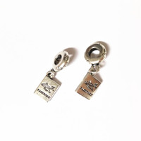 Travel Plane Dangle Alloy Charm Bead Fashion Women Jewelry Stunning European Style For DIY Bracelet Necklace