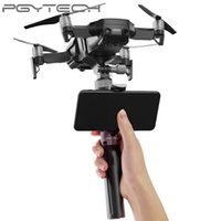 trípode gimbal al por mayor-PGYTECH Handheld Universal bracket DJI Mavic Air Selfie Sticks Handheld Gimbal Stabilizer Holder para Action Camera Tripod