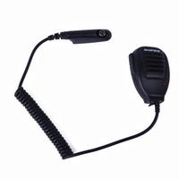 wasserdichtes lautsprechermikrofon großhandel-BAOFENG Wasserdicht Handheld-Lautsprecher-Mikrofon für Baofeng UV-XR A58 UV-9R Plus GT-3WP Retevis RT6 Zwei-Wege-Radio Walkie Talkie