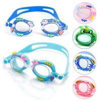 мальчики мультфильм зеркало оптовых-Мультипликационные крабы. Защитные очки. Детское водонепроницаемое и противотуманное зеркало для плавания. Тренировочное оборудование для мальчиков и девочек.