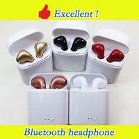 auriculares inalámbricos usb al por mayor-Auriculares Bluetooth I7S i8x i9s TWS Auriculares con auriculares inalámbricos Auriculares con micrófono estéreo V5.0 para iPhone Android PK AirPods i10