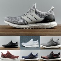 Wholesale High Quality Ultraboost Running Shoes Men Women Ultra Boost III Primeknit Runs White Black Sports Sneaker