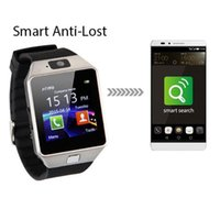 Wholesale ms homes - DZ09 SmartWatch Bluetooth GSM Mini Phone For IOS iwatch Android Phones HTC Samsung Huawei Support Multi languages MS