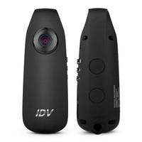 Wholesale micro camera hd pinhole for sale - Group buy 2019 Mini Camera IDV007 Full HD P Mini DV Camera Dash Cam Wearable Body Bike H Camcorder Micro Camera