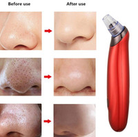 Wholesale face extractor for sale - Group buy Face Nose Vacuum Blackhead Extractor Pores Cleaning Black Dot Comedo Extractor Point Noir Aspiration Acne Suction Massage Tool