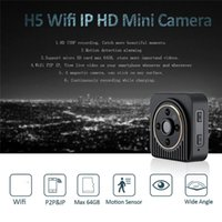 Wholesale Outdoor Detection - Mini IP Camera Wide Angle HD 720P Mini Wifi P2P DV Motion Detection Magnetic DVR Wireless Surveillance Wearable Body Camera