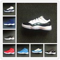 ingrosso pattini di pallacanestro di moda gamma-All'ingrosso 11 XI Pasqua gamma unc jeter blu nero bianco uomini scarpe da basket Sneakers sportive moda outdoor formatori taglia 36-47