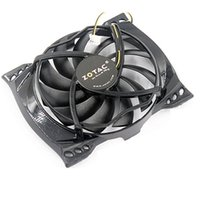Wholesale amd cards resale online - Computer graphics cooling fan Pin lines VGA Card Cooler For ZOTAC GT240 Video cards cooling