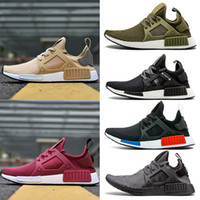 Wholesale New Yellow Rose Red NMD XR1 Running Shoes Wine Mastermind Japan Olive green Camo OG Classic mens women sports Sneskers Designer Shoes