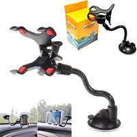 Wholesale mobile suction holder for sale - Group buy Car Mount Long Arm Universal Windshield Dashboard Mobile Phone Car Holder Degree Rotation Car Holder with Strong Suction Cup X Clamp