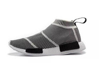 Wholesale popular cities - NMD City 2 Primeknit Shock Pink Pack mid-top casual sneaker Primeknit Shoes For Men And Women Training Sneaker,Popular Casual Boos 36-45