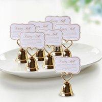 çan kartları toptan satış-Gümüş rengi veya Altın rengi düğün favor