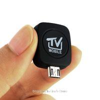 ingrosso ricevitori di sintonizzatore android-Ricevitore sintonizzatore TV digitale portatile Micro USB DVB-T di alta qualità Freeshipping per Android 4.0-5.0