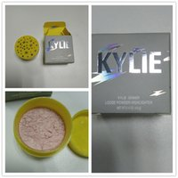 Wholesale Natural Collection Foundation - Kylie Jenner The Birthday Collection Queen & King 2 versions Ultra Glow highlighter Loose Powder foundation free shipping