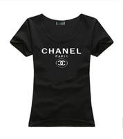 ingrosso vestiti da spiaggia estivi-2019 Marca Estate Magliette Donna Top Luxury Designer magliette Lady Summer Beach Abbigliamento manica corta Tees Tops Casual Tshirt