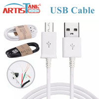 Wholesale android phone zte - 1M 3FT Micro USB Cable Sync Data Cable Adapter For Android Smart Phone Samsung LG ZTE Huawei Google