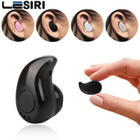 Wholesale Bluetooth Headset For Computer - LESIRI Mini Bluetooth Earphone Music Sports Stereo S530 Wireless In-Ear Headset Earpiece Earbuds Universal For iPhone 8 Android