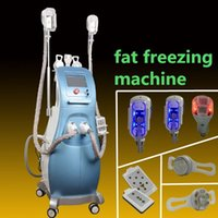 Wholesale laser anti cellulite - Fat Freezing Machine For Fat removal lipo laser Weight Loss cavitation Anti Cellulite Dissolve Fat Cold 4 freeze handles