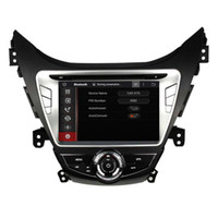 Wholesale hyundai elantra dvd - 8inch Andriod 6.0 4GB RAM Car DVD player for HYUNDAI Elantra Avante I35 2011-2013 with GPS,Steering Wheel Control,Bluetooth,Radio