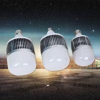 lâmpada do navio ufo venda por atacado-AC180-260V Grande poder E27 lâmpada CONDUZIDA220 V 24 w 30 w 50 w 80 w 100 w150 w lâmpada LED estilo navio espacial Quente / branco 5730 SMD UFO lâmpada LED