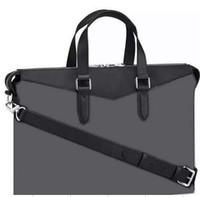 Wholesale Retail Classic Men Purse Leather Briefcases Designer Handbag Shoulder Bag classic branded bags EXPLORER briefcase with lettel